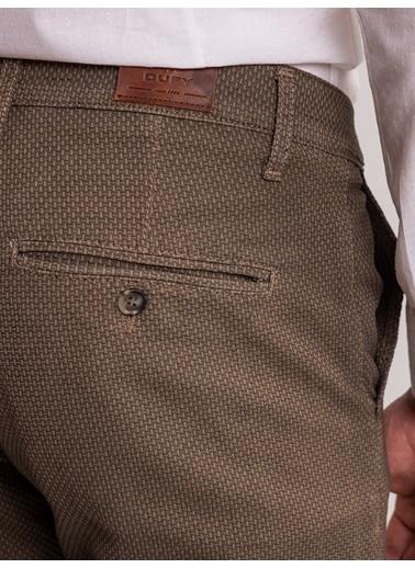Dufy Taş Armür Pamuk Lıkra Karişimli Erkek Pantolon - Battal Kahve